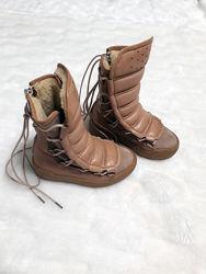 Зимові чобітки на овчині 17 см