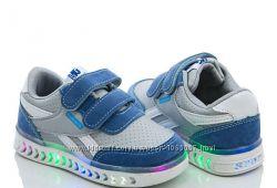 Детские кроссовки для мальчиков размеры 21-23