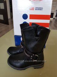 Ботинки байкерские original marines