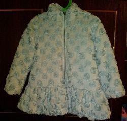 Искусственная меховая шубка, пальто Wojcik Войчик демисезонная, еврозима