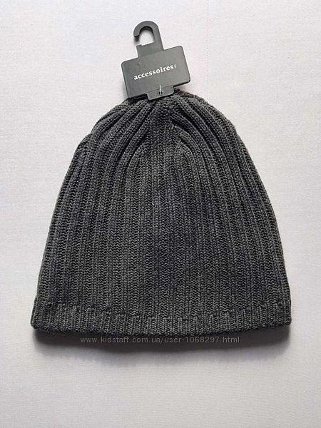 Коттоновая двойная шапка на мальчика, C&A 49-52