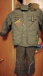 Зимний полукомбинезон куртка