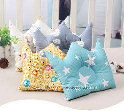 Подушка для новорожденного хлопок