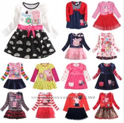 Регланы, платья с героиней Пеппа-Peppa под заказ