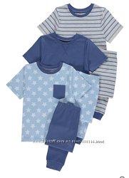 Пижамы George мальчикам от 2 до 6 лет