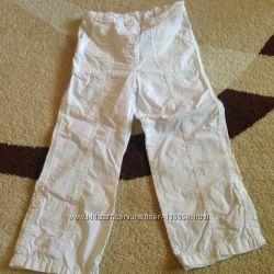 Отличные белоснежные штанишки CHEROKEE 3-4 года