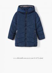 Длинная куртка для девочки Mango Испания оригинал