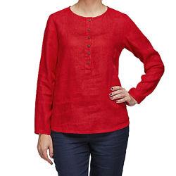 Стильные блузки из льна и стрейч коттона с 40 по 58 р.