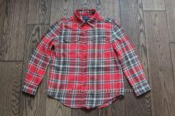 Элитная хлопковая рубашка для мальчика Polo Ralph Lauren, р. 8-9 лет