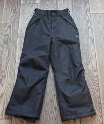 Зимние очень теплые штаны-полукомбинезон для мальчика , р. 8-9 лет