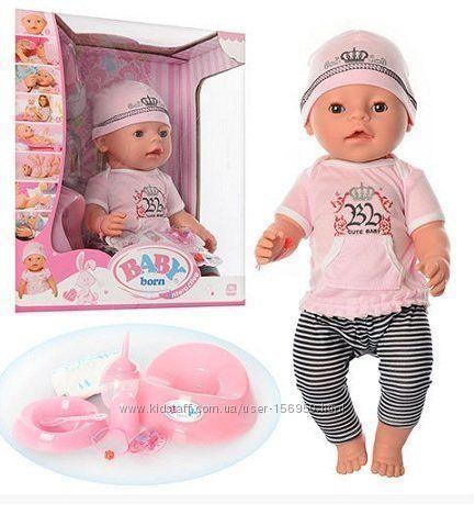Пупс кукла Baby Born Бейби Борн