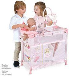 Очень красивая кроватка-люлька для любимых кукол