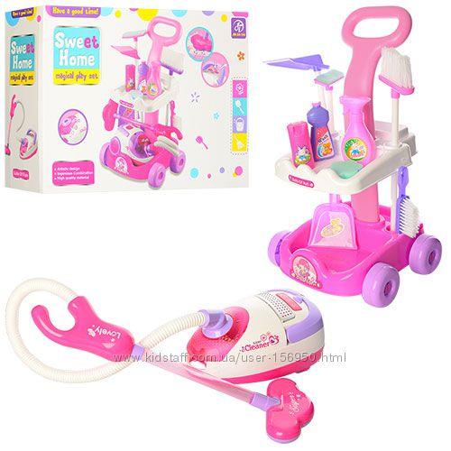 Детский игровой набор для уборки для Вашей маленькой хозяюшки