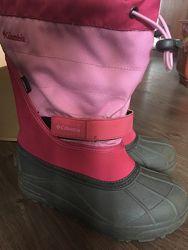 Columbia зимние сапожки для девочки 35 размер