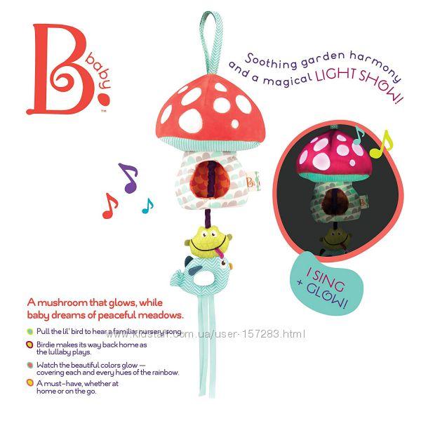 Волшебный музыкальный мобиль Battat Mellow-Zzzs Nursery Mobile свет, звук