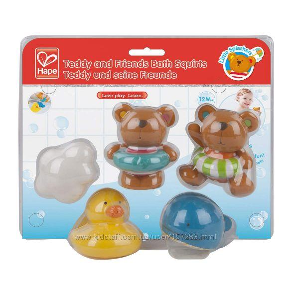 Игрушка для ванной комнаты Little Splashers Teddy and Friends Bath Squirts