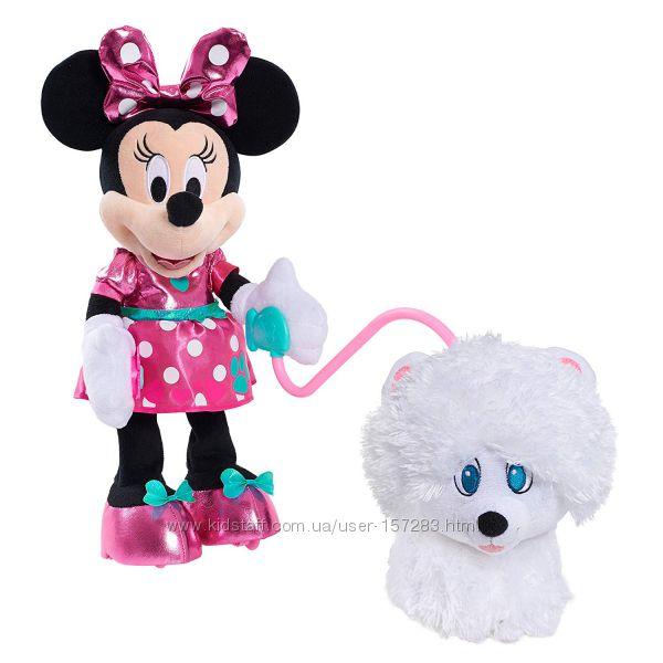 Игровой набор Минни Маус ходит и щенок Disney Minnie Walk  Play Puppy