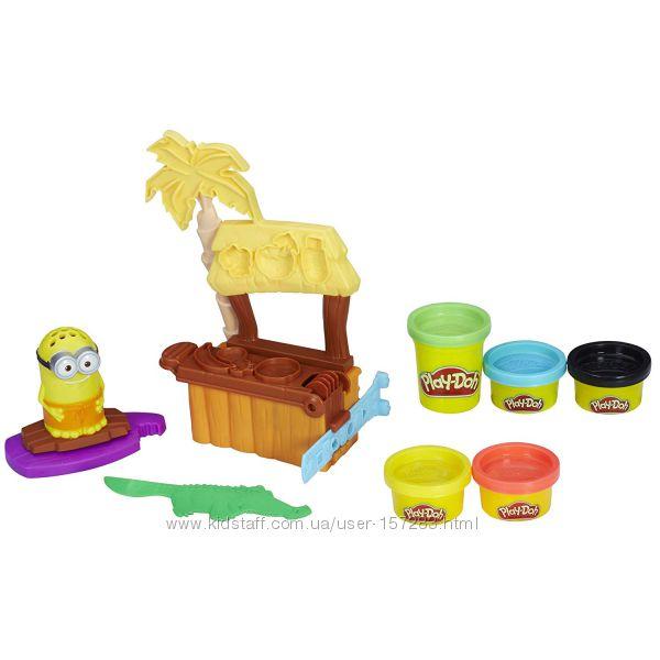 Набор пластилин Плей До Рай Миньйонов, Play-Doh Minions Paradise Set