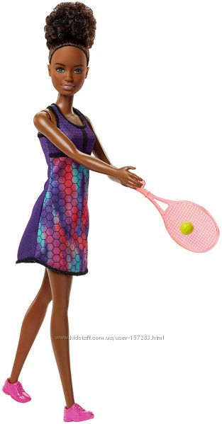 Кукла Барби Я могу быть Теннисист Barbie Careers Tennis Player FJB11