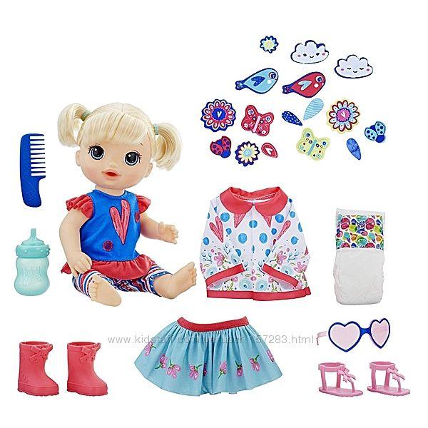 Кукла Baby Alive пупс с набором одежды Так Много Стилей So Many Styles Baby
