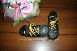 Кожанные шведские деми ботиночки для малыша