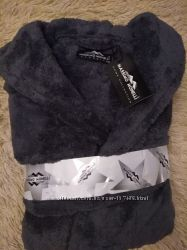 Massimo Monelli   Турция мужские халаты в наличии XL,  2XL, 3XL
