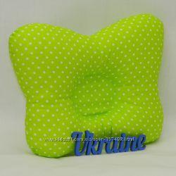 Ортопедическая подушка для новорожденных Бабочка