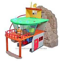 Пожарная спасательная станция Пожарного Сэма с джипом Симба 9251003