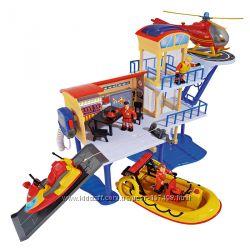 Игровой набор Спасательная станция Пожарного Сэма Simba 9257663