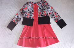 Платье и пиджачок-накидка