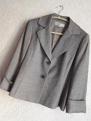 Элегантный пиджак бренда премиум класса Tahari США, красивый жакет