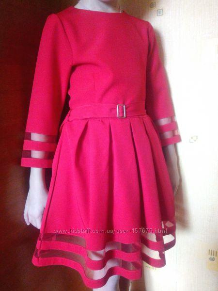Нарядное платье на рост 128-134