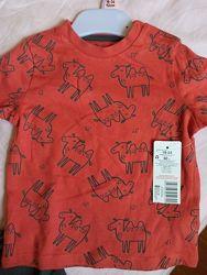 Летний набор костюм F&F для мальчика футболка шортики.