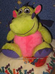 Мягкая игрушка  и рюкзачек   дракончик