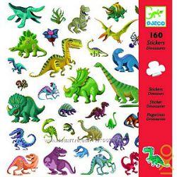Набор наклеек Динозавры Djeco