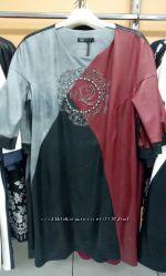 Красивые качественные платья  в наличии р 50-62, Турция