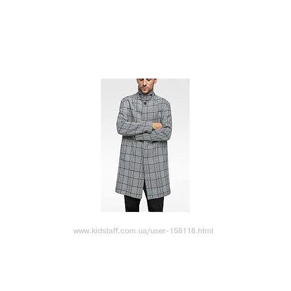 Крутое мужское деми пальто, тренч Zara Man - Л - на М-Л, Л