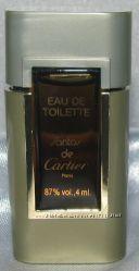 Миниатюра. Туалетная вода Cartier Santos de Cartier.