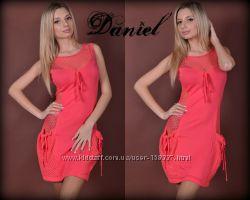 Платье с сеточкой