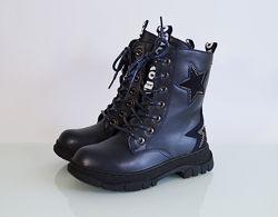Ботинки демисезонные для девочки ТМ ТоmM. 33-38р. Модель 78-14D