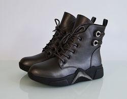 Ботинки демисезонные для девочки ТМ ТоmM. 32-37р. Модель 78-08Е