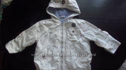 Легкая курточка на хлопковой подкладке 86см
