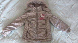 Серебристая курточка Hello Kitty 116см