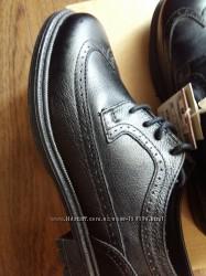 Кожаные туфли для мальчика Zara. Размер EUR 35.
