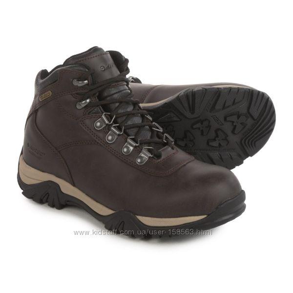 Зимние кожаные ботинки Hi-Tec. Размер EUR 35, US 4.