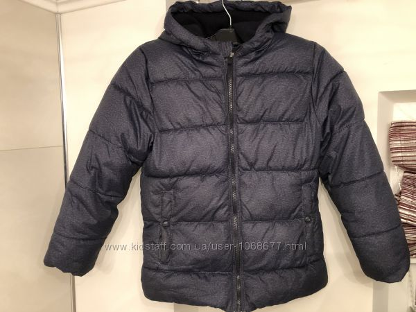 Очень теплая демисезонная куртка Kiabi