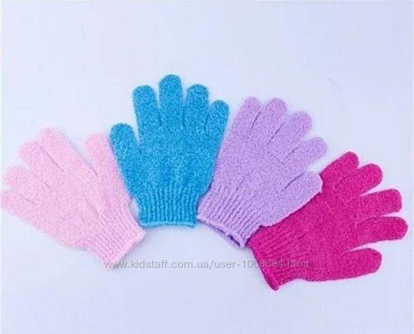 Массажная перчатка/ мочалка скраб  для душа