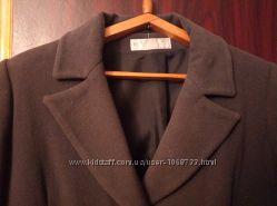 Пальто женское демисезонное в идеальном состоянии цвет мокрый асфальт