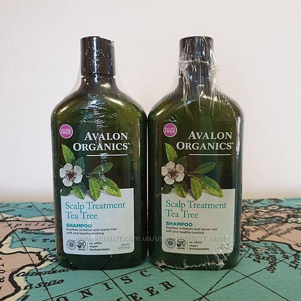 Avalon Organics, Шампунь, с чайным деревом для кожи головы, 325 мл.