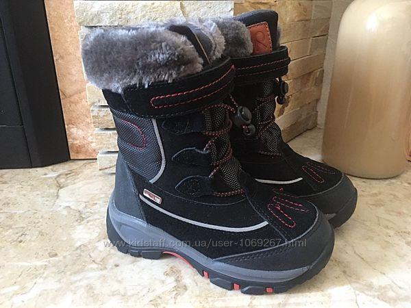 Зимние новые сапоги-ботинки Reima